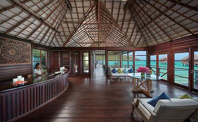 Canouan Luxury Spa Reception