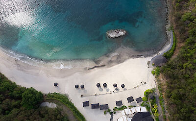 Canouan Hotel Lance Aerial