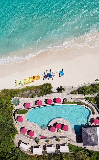 Canouan Hotel Exterior Aerial
