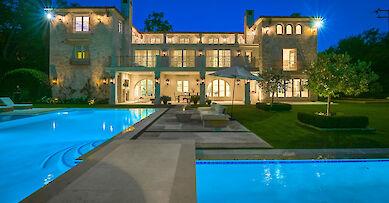 California villa rentals