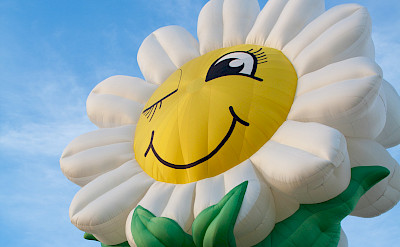 The annual Balloon Festival in Barneveld, Gelderland, Holland. Photo by Bert Glismeijer