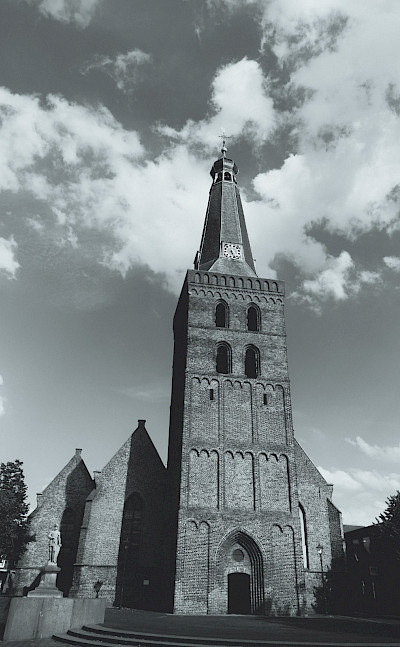 The famous church in the center of Barneveld.