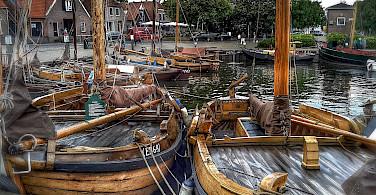 Boats in Harderwijk, Gelderland, the Netherlands. Photo via Flickr:Frank Meijn