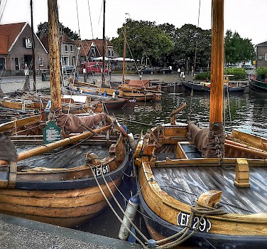 Boats in Harderwijk, Gelderland, the Netherlands. Photo via Flickr:Frank Meijn