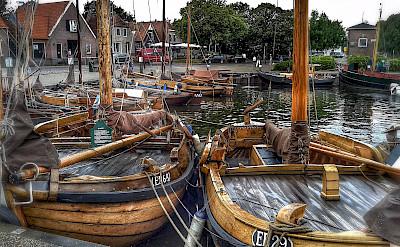 Boats in Harderwijk, Gelderland, the Netherlands. Flickr:Frank Meijn