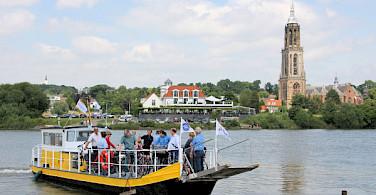 Ferry crossing in Rhenen, Utrecht, the Netherlands. Photo by Martin Wigtman
