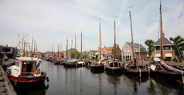 Harbor in Spakenburg in Bunschoten, the Netherlands. Photo via Flickr:bert knottenbeld