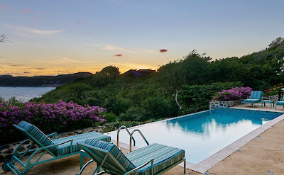 New Shoot Villa Ritz Pool And View