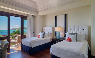 New Shoot Beach House Two Twin Bedded Bedroom