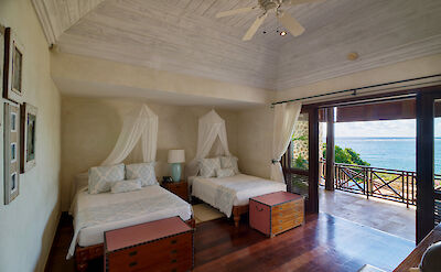 New Shoot Beach House Guest Bedroom Two Beds