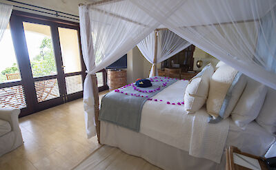 Little Blue Ocean Guest Bedroom