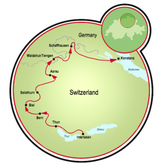 Aare Trail Map