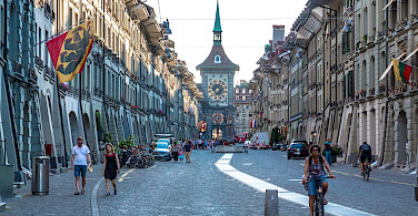 Zytglogge Clock Tower in Bern, Switzerland. Photo via Wikimedia Commons:Dmitry Amottl