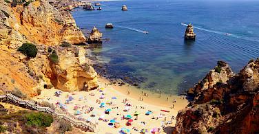 From bike to beach in Algarve, Portugal. Photo via Flickr:Rodrigo Gomez Sanz