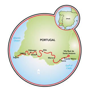 Algarve Map