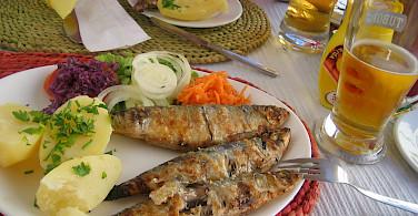 Fresh fish in Cape St. Vincent, Portugal. Photo via Flickr:Bartek Lingas