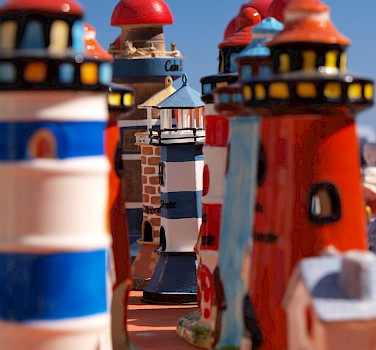 Souvenirs of the lighthouse in Cape St. Vincent, Portugal. Photo via Flickr:Oleg