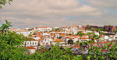 Moorish Castle visible in Silves, Portugal. Photo via Flickr:Bert Kaufmann