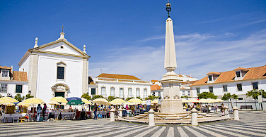 From bike to Market in Vila Real, Portugal. Photo via Flickr:Bert K