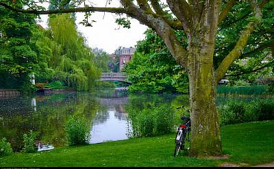 Bike rest in Amsterdam, North Holland. Flickr:Moyan Brenn