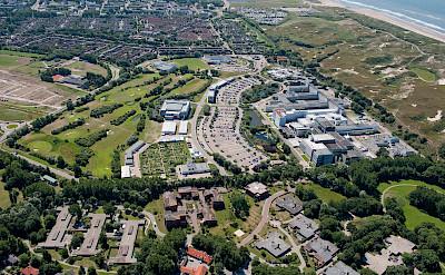 Aerial of European Space Agency in Noordwijk, the Netherlands. Flickr:ESA – Jan Van Haarlem/Gallery Imaging bv