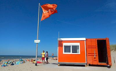 Beach in Noordwijk, South Holland, the Netherlands. Flickr:Daniel de Wit