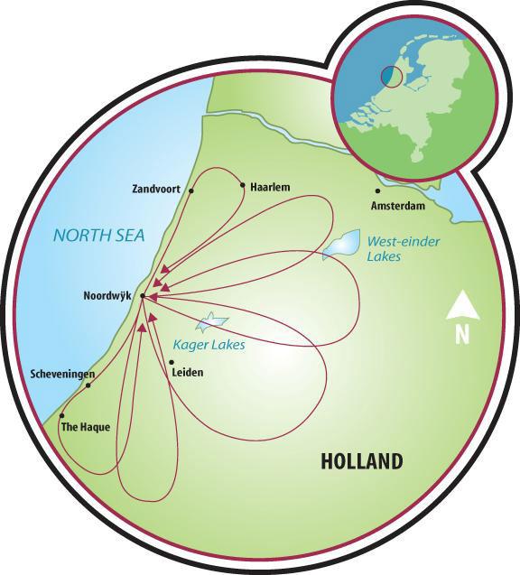 Along the North Sea Tulip Bike Tour Netherlands Tripsite