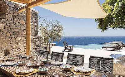 Mykonos Villa Bsv Dining