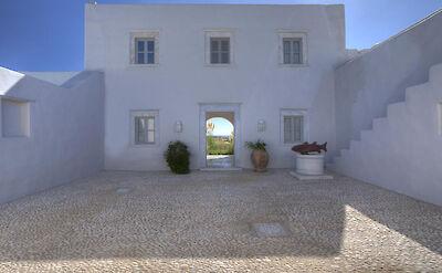 Paros Villa Bsv Entrance