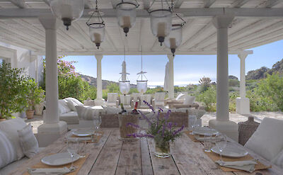 Paros Villa Bsv Dinning