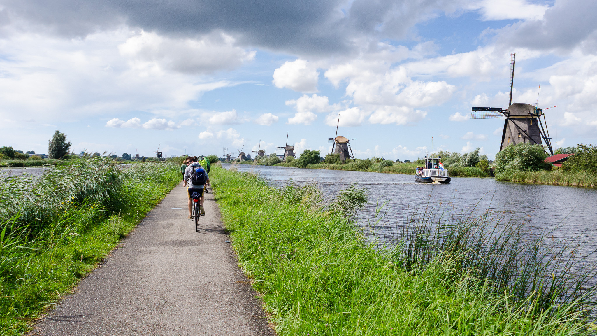 Amsterdam to Bruges Bike and Barge Tour Belgium Holland Tripsite