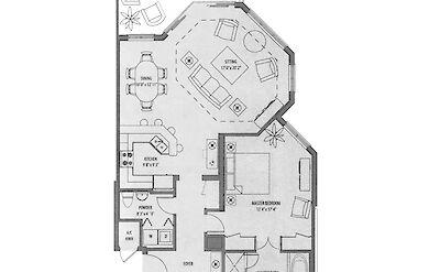 Ocean Front Luxury 1 Bedroom Suite Scaled