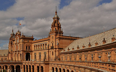 Plaza de Espana in Sevilla, Andalusia, Spain. Flickr:Harshil Shah