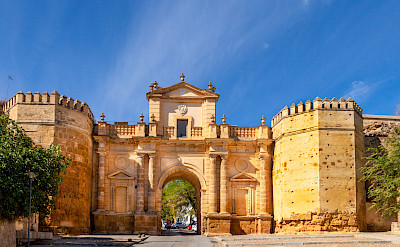 Old Roman Gate (Cordoba Gate) in Carmona, Andalusia, Spain. Flickr:Paul VanDerWerf