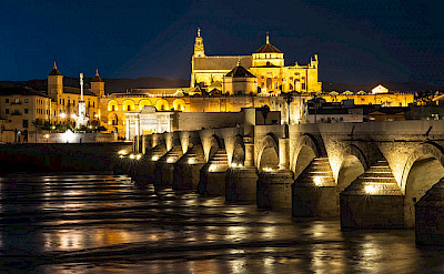 Nighttime in Cordoba, Spain. Flickr:Danel Solabarrieta