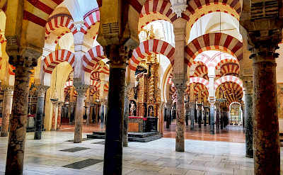 Prayer Hall in the Mezquita-Catedral de Córdoba is a UNESCO World Heritage Site. Flickr:r chelseth