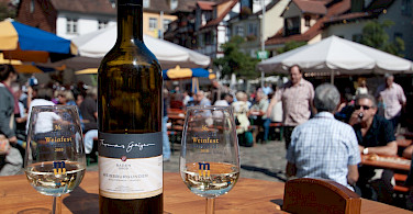 Bodensee Wine Fest in Meersburg, Germany. Photo via Flickr:LenDog64