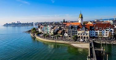 Biking to Friedrichshafen, Germany. Photo via Flickr:Kiefer