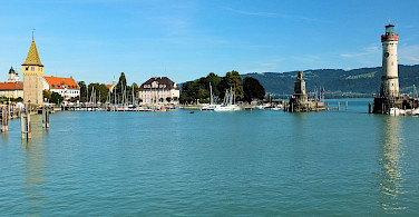 Lindau Island on Lake Constance. Photo via Flickr:Kieth Roper
