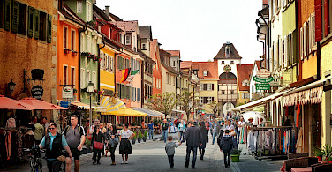 Shopping in Meersburg, Lake Constance. Photo via Flickr:Stefan Jurca