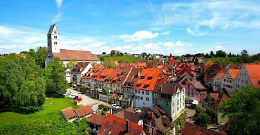 Biking through Meersburg, Germany, Lake Constance. Photo via Flickr:Stefan Jurca
