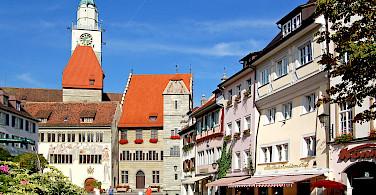 Überlingen on Lake Constance, Germany. Photo via Flickr:Pixelteufel