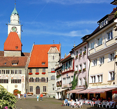 Überlingen on Lake Constance, Germany. Photo via Flickr:Pixelteufel