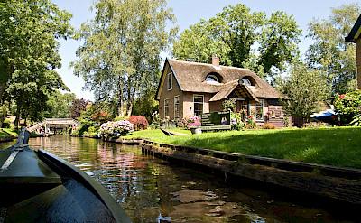 Giethoorn, Overijssel, the Netherlands. Flickr:piotr ilowiecki
