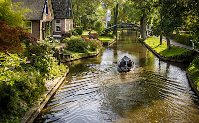 """Giethoorn is known as the """"Venice of the North"""" in Overijssel, the Netherlands. Flickr:PhotoBobil"""