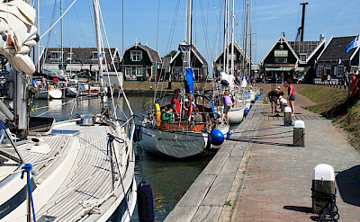 Town of Marken in province North Holland, the Netherlands. Flickr:Jlastras