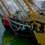 Harbor in Stavoren, Holland. Photo via Flickr:Marja van Bochove