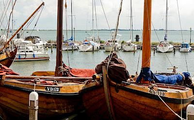 Harbor in Volendam, the Netherlands. Flickr:Esteban Luis Cabrerasan