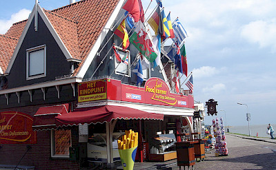 Volendam in North Holland, the Netherlands. Flickr:Paulo Henrique Rodrigues