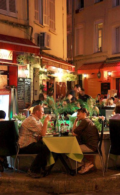 Evening stroll through Aix-en-Provence, France. Flickr:Andrea Schaffer